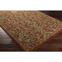 Hand Tufted Carriage Wool Area Rug - 8' x 10'