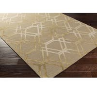 Hand Hooked Calle Wool Area Rug - 9' x 13'