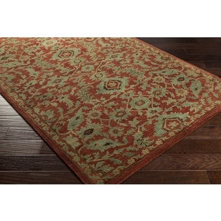 Hand Tufted Carriage Wool Area Rug (9' x 13')