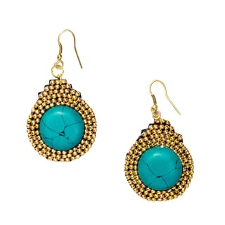Gold Nefertari Earrings