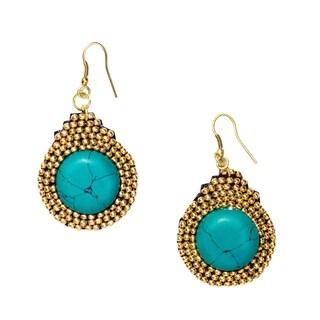 Gold Nefertari Earrings