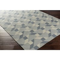 Hand Woven Bolivia Wool Area Rug - 2' x 3'