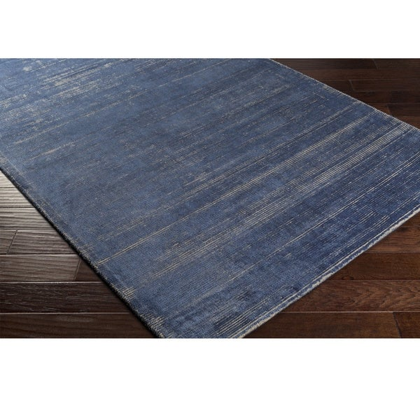 Hand-Loomed Carolina Viscose/Polyester Rug (2' x 3')