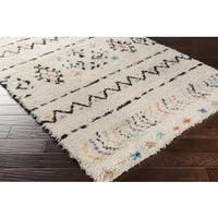 Hand Knotted Delancey Wool Area Rug - 2' X 3'