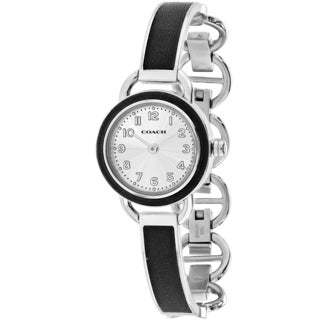 Coach Women's 14502112 Dree Round Two-tone Stainless Steel Bracelet Watch