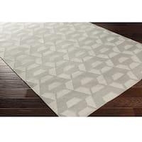 Hand Woven Bogardus Wool Area Rug - 8' x 10'