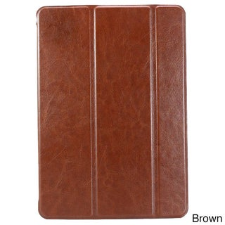 iPM Luxury PU Leather Smart Case with Sleeping Function for iPad Air (Option: Brown)