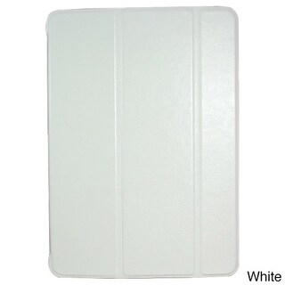 iPM Luxury PU Leather Smart Case with Sleeping Function for iPad Air (Option: White)