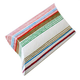 Handmade Set of 10 Fame Pillow Boxes (India)