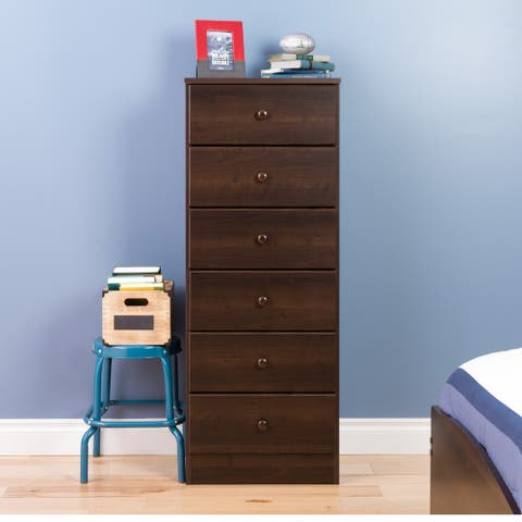 Bella 6-Drawer Tall Chest