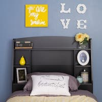 Bella Twin Headboard, Black
