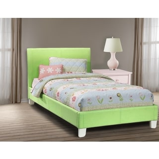 LYKE Home Downtown Green Platform Twin Bed