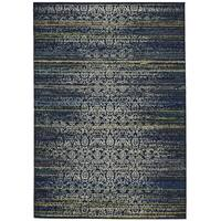 Grand Bazaar Omari Midnight Blue Area Rug - 10' x 13'
