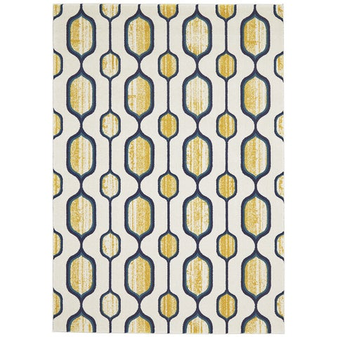 Grand Bazaar Omari Maize Area Rug (8' x 11') - 8' x 11'