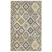 Grand Bazaar Zero Pile Seymour Area Rug in Maize (10' x 13')