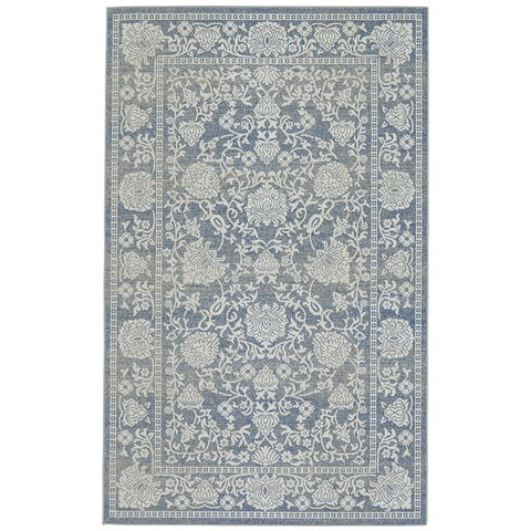 Grand Bazaar Okara Denim Area Rug - 10' x 13'2""