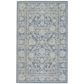 Grand Bazaar Denim Okara Power-loomed Rug (10' x 13'2)