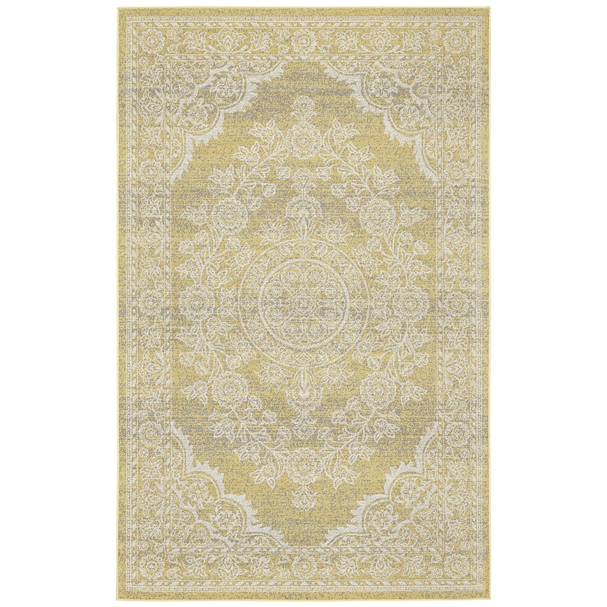 "Grand Bazaar Okara Straw Area Rug (10' x 13'2"") - 10' x 1..."
