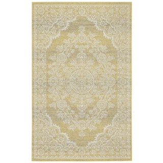 Grand Bazaar Straw Okara Power-loomed Rug (10' x 13'2)