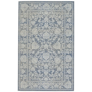 Grand Bazaar Denim Okara Power-loomed Rug (8' x 11')