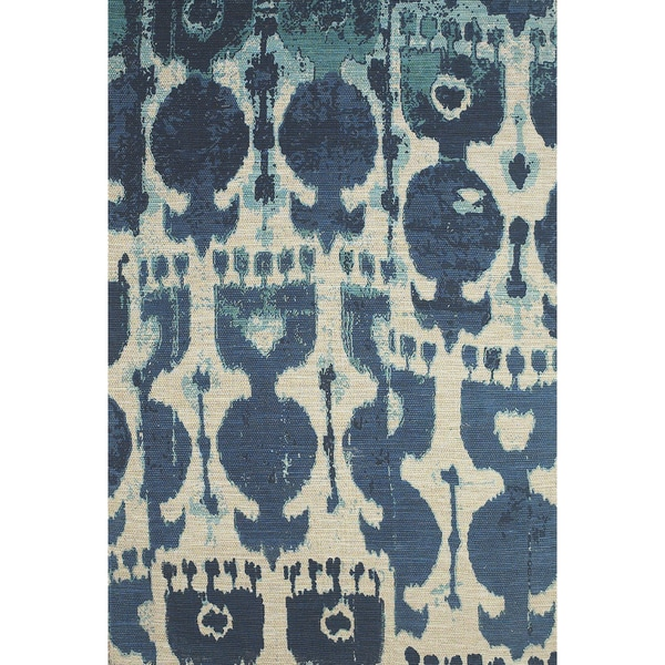 7 Top Tips For Throwing A Grand Party In A Small Home: Shop Grand Bazaar Huelva Hand-woven Abstract Rug (8' X 11