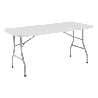 Plastic Folding Table, 30 x 60 15 Pack