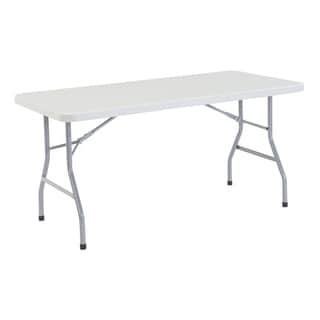 Plastic Folding Table, 30 x 60 4 Pack