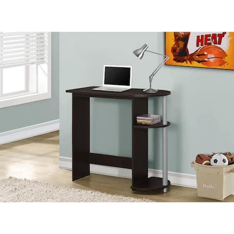 Juvenile Cappuccino 32-inch Computer Desk