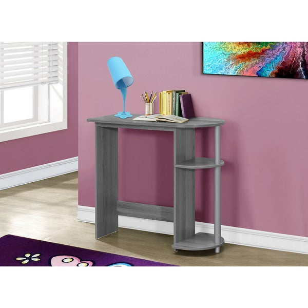 Juvenile Grey 32-inch Computer Desk - Free Shipping Today - Overstock