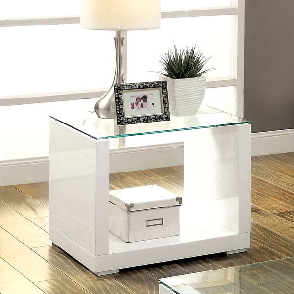 Cheap Furniture Stores Online Free Shipping: Shop Furniture Of America Shura Contemporary High Gloss