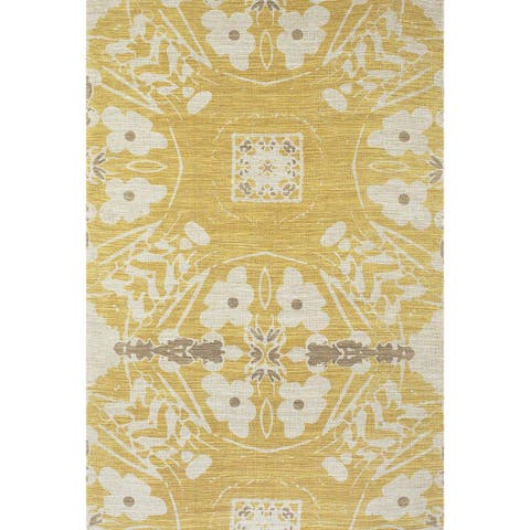 Grand Bazaar Huelva Hand-woven Abstract Rug (5' x 8')