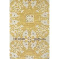 Grand Bazaar Huelva Hand-woven Abstract Rug (5' x 8') - 5' x 8'
