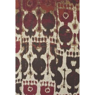 Grand Bazaar Huelva Abstract Hand-woven Rug (5' x 8')