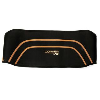 Copper Fit Copper Infused Adjustable Compression S/ M Back Support Wrap