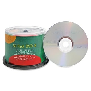 Compucessory DVD-R Recordable Media 16x 4.70 GB - Pack of 50