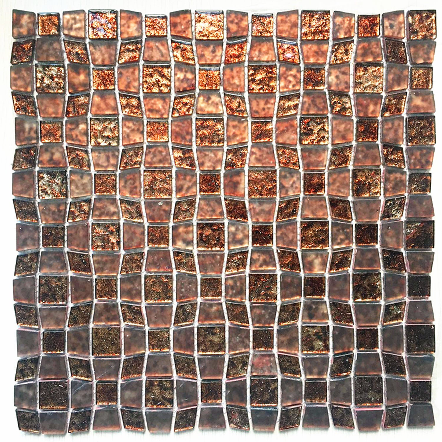 - Shop Instant Mosaic Peel And Stick 11.5-inch Glass Mosaic Wall