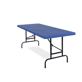 All-American, ADJ, Rectangular Folding Table avaible in Blue or Red, Pack of 2