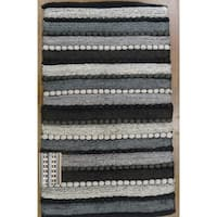 "Grand Bazaar Flatweave Ashley Rug in Grey Multi, 20""x34"" - 1'8"" x 2'10"""