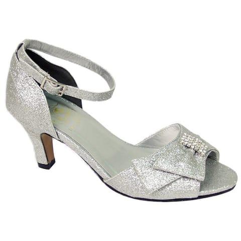 FLORAL Elisa Womens Extra Wide Width Dress Sandal