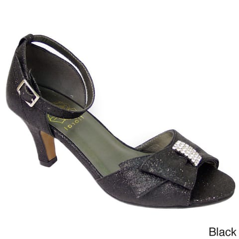 163a9bbd7 Buy Black, Ankle Strap Women's Heels Online at Overstock | Our Best ...