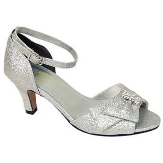 FIC FLORAL Elisa Women's Extra Wide Width Dress Sandal