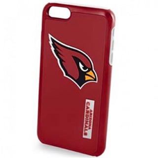 Forever Collectibles NFL Licensed Dual Hybrid Case for Apple iPhone 6/ iPhone 6S (Arizona Cardinals)