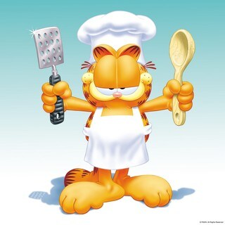 Marmont Hill - Let's Cook Garfield Painting Print on Canvas