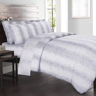 Echelon Home Kalahari 4-piece Cotton Sateen Sheet Set