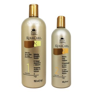 Avlon Keracare 32-ounce Hydrating Shampoo and 16-ounce Humecto Creme Conditioner