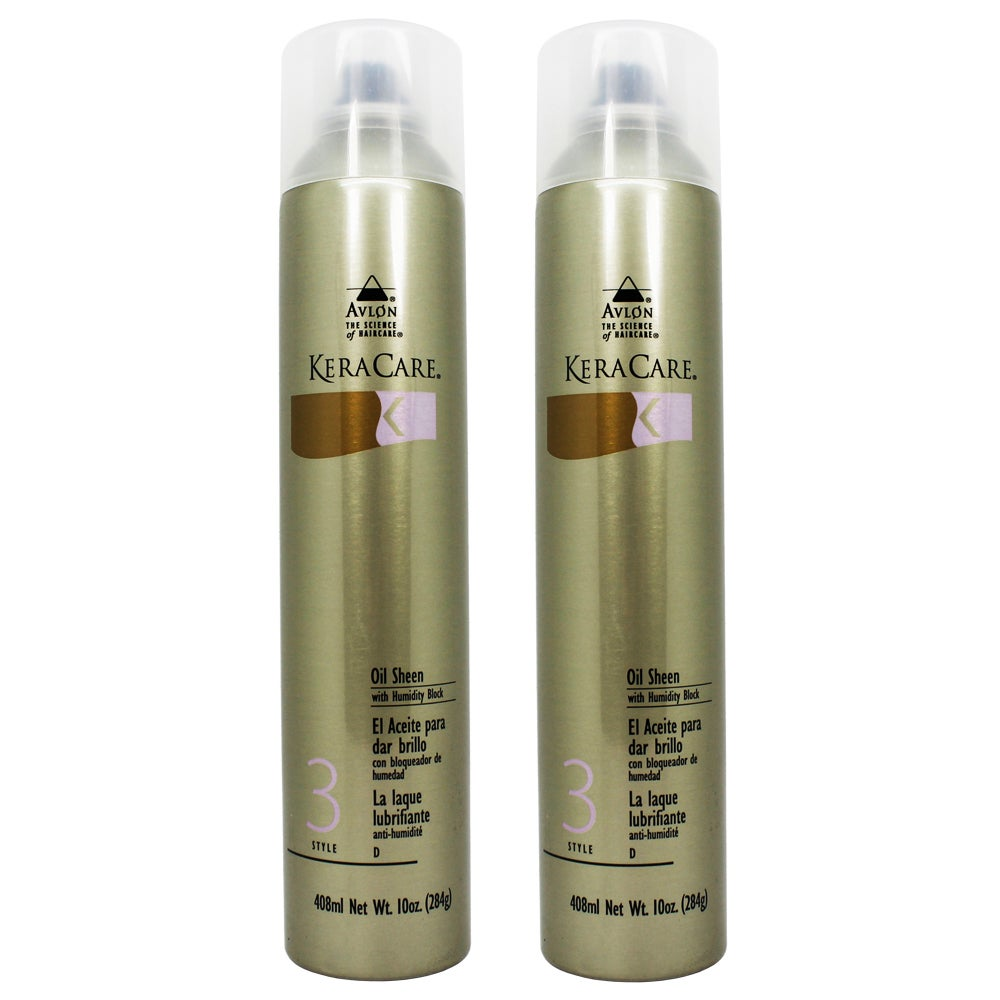 Keracare 10-ounce Oil Sheen Spray with Humidity Block (Pa...