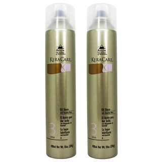 Keracare 10-ounce Oil Sheen Spray with Humidity Block (Pack of 2)