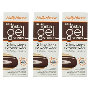 Sally Hansen Salon Insta Gel Strips Commander In Chic (Pack of 3)