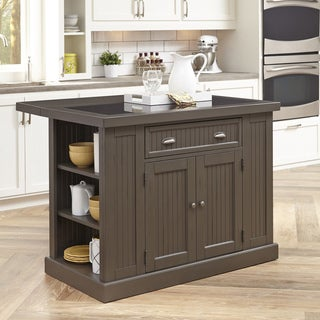 The Gray Barn Firebranch Gray Kitchen Island
