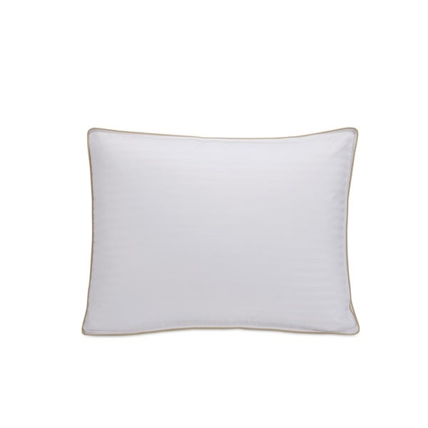 Fusion Classic Hyper Cotton White Down and Feather Standard-sized Pillow and Protector (Set of 2)